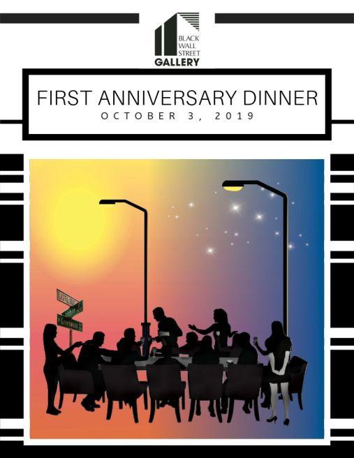 BWS Anniversary Dinner Flyer