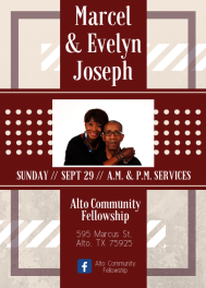 Marcel & Evelyn Joseph